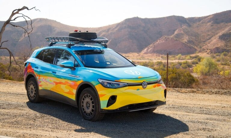 Volkswagen ID.4 AWD EV - Volkswagen of America enters Rebelle Rally with newly launched ID.4 AWD EV