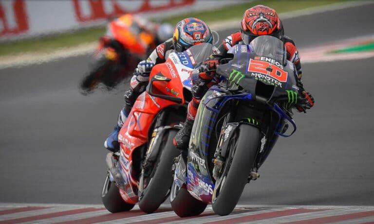 Horarios MotoGP Misano 2 Fabio Quartararo