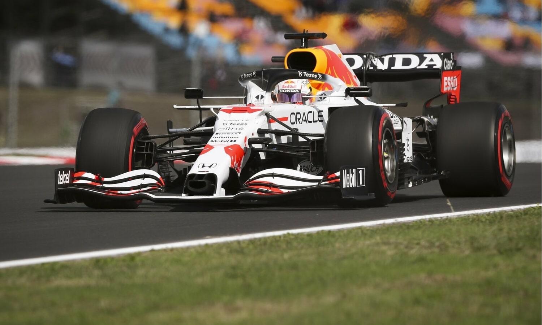 Red Bull Honda blanco GP de Turquía F1 2021