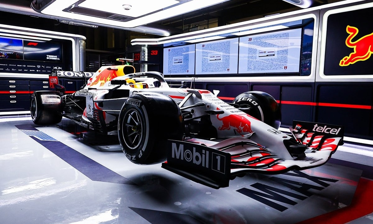GP de Turquía de F1 2021 Red Bull blanco honor a Honda